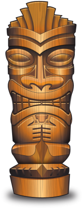 Tiki in PhuttBuckit Island Adventure iOS Game